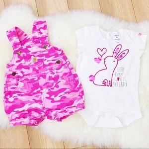 Baby girl set size 3-6 months
